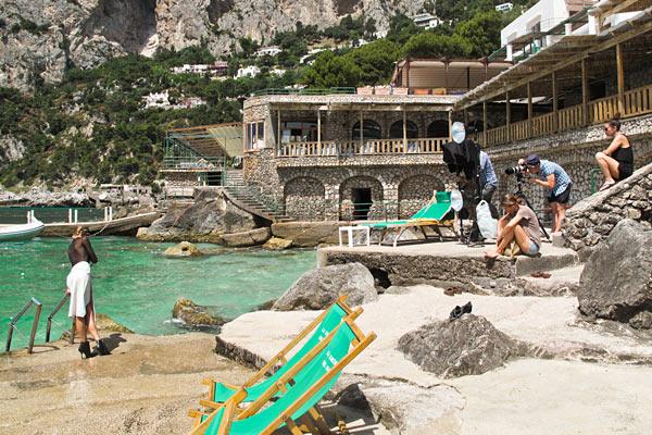 Backstage_Servizio_Fotografico_Fotografo_Andrew Yee_Location_Capri_ Editoriale_moda_Grazia_Magazine